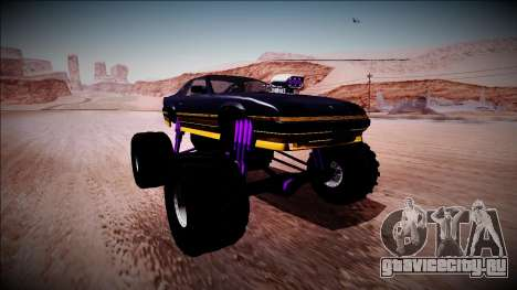 GTA 5 Imponte Ruiner Monster Truck для GTA San Andreas вид справа
