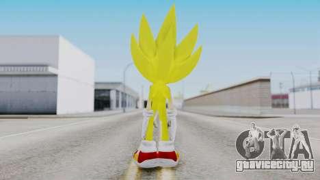 Super Sonic The Hedgehog 2006 для GTA San Andreas третий скриншот