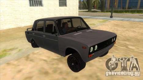 VAZ 2106 Drift Edition для GTA San Andreas вид сзади