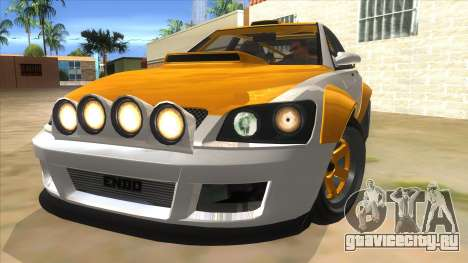 GTA V Karin Sultan RS 4 Door для GTA San Andreas