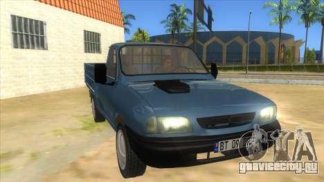 Dacia 1305 Drop-Side для GTA San Andreas вид сзади