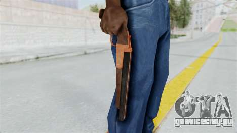 Double Barrel Shotgun Orange Tint (Lowriders CC) для GTA San Andreas