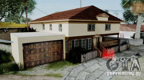 CJ House with Frame and Book для GTA San Andreas второй скриншот