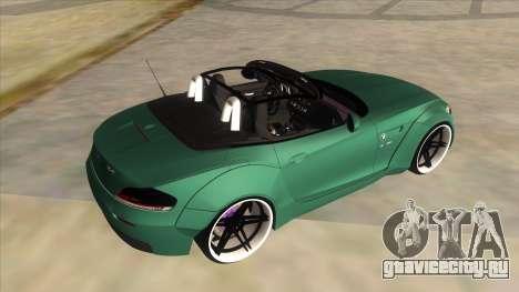 BMW Z4 Liberty Walk Performance для GTA San Andreas вид сбоку