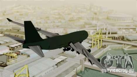 GTA 5 Jumbo Jet v1.0 для GTA San Andreas вид слева