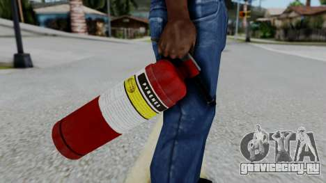 No More Room in Hell - Fire Extingusher для GTA San Andreas третий скриншот
