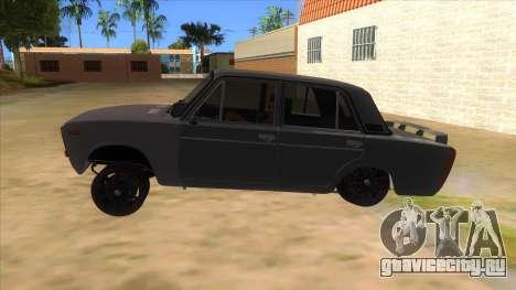 VAZ 2106 Drift Edition для GTA San Andreas вид слева