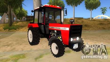 Massley Ferguson Tractor для GTA San Andreas вид сзади