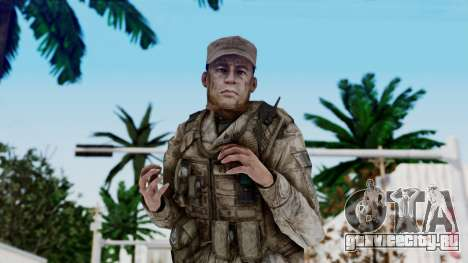 Crysis 2 US Soldier 5 Bodygroup A для GTA San Andreas