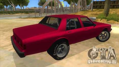 1984 Chevrolet Impala Drag для GTA San Andreas вид справа