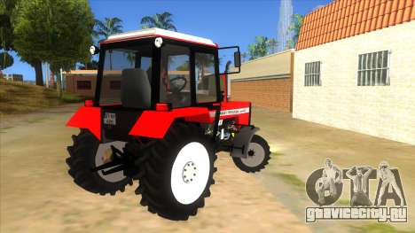 Massley Ferguson Tractor для GTA San Andreas вид справа
