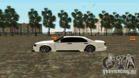 Nissan Cedric WideBody для GTA San Andreas вид слева