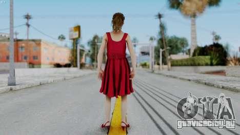 Hermione Dress для GTA San Andreas третий скриншот