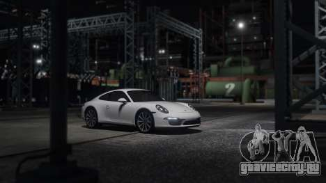 Porsche 911 для GTA 5 вид слева
