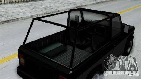 Aro 240 1996 для GTA San Andreas вид сзади