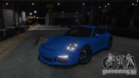 Porsche 911 для GTA 5 вид сзади