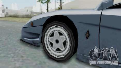 RC Turismo для GTA San Andreas вид сзади слева