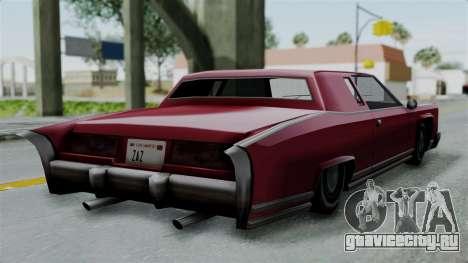 Remington Las Vivas для GTA San Andreas вид слева
