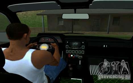 Ваз Нива 2121 Лесник для GTA San Andreas вид сзади слева