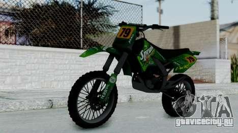 GTA 5 Sprunk Sanchez для GTA San Andreas