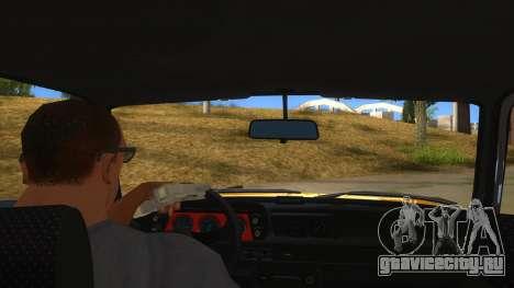 1974 BMW 2002 turbo v1.1 для GTA San Andreas вид изнутри