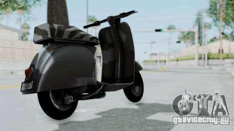 GTA 5 Principe Faggio для GTA San Andreas вид слева
