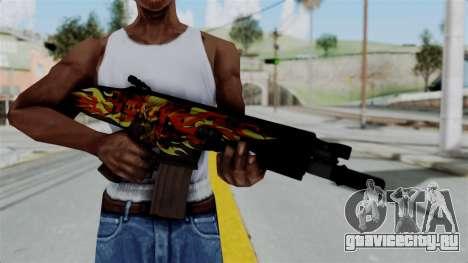 SCAR-L Extra PJ для GTA San Andreas третий скриншот