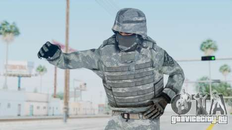 Acu Soldier Balaclava v1 для GTA San Andreas