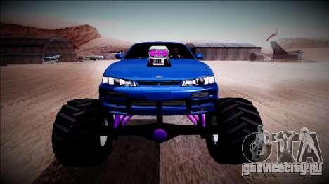 Nissan Silvia S14 Monster Truck для GTA San Andreas