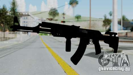 AK-47 Tactical для GTA San Andreas второй скриншот
