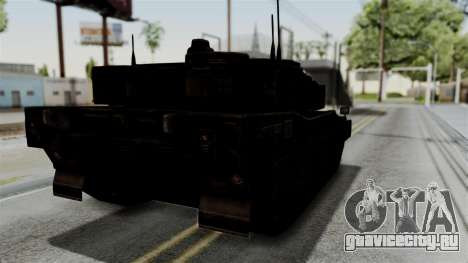 Point Blank Black Panther Rusty IVF для GTA San Andreas вид сзади слева