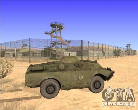 БРДМ-2ЛД для GTA San Andreas вид изнутри