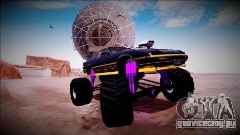 GTA 5 Imponte Ruiner Monster Truck для GTA San Andreas вид снизу