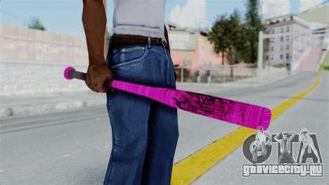 GTA 5 Baseball Bat 4 для GTA San Andreas второй скриншот