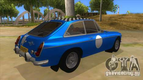 Richard Hammond MGB GT Top Gear для GTA San Andreas вид справа