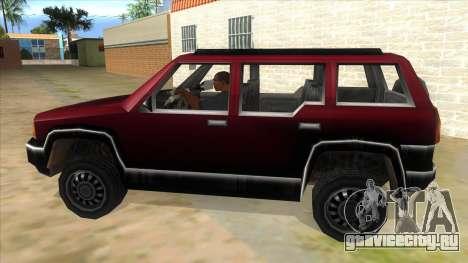 GTA III Landstalker для GTA San Andreas вид слева