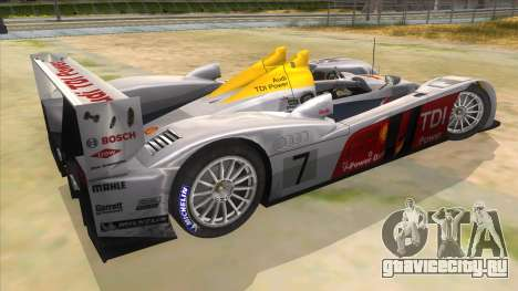 Audi R10 для GTA San Andreas вид справа