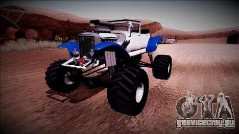 GTA 5 Albany Franken Stange Monster Truck для GTA San Andreas
