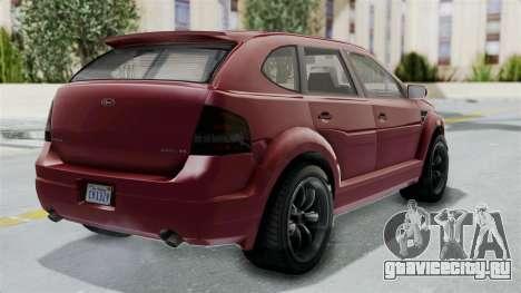 GTA 5 Vapid Radius IVF для GTA San Andreas вид слева