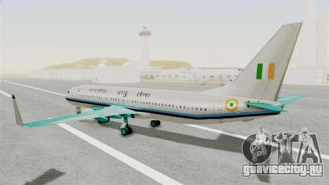 Boeing 737-800 Business Jet Indian Air Force для GTA San Andreas вид слева