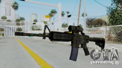 Arma2 M4A1 CCO Camo для GTA San Andreas