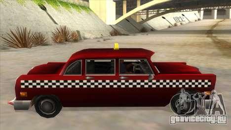 GTA3 Borgnine Cab для GTA San Andreas вид слева
