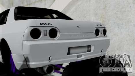 Nissan Skyline R32 Monster Truck для GTA San Andreas вид сзади слева