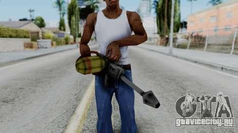 GTA 3 Flame Thrower для GTA San Andreas третий скриншот