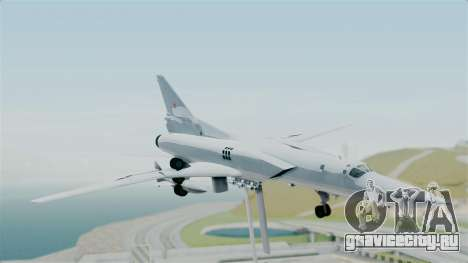 ТУ-22М3 для GTA San Andreas вид сзади слева