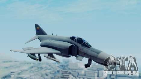F-4E Phantom II Royal Noord-Hollandian Air Force для GTA San Andreas вид сзади слева