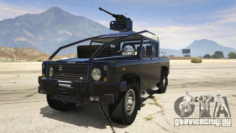 Land Rover 110 Pickup Armoured для GTA 5