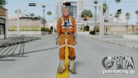SWTFU - Luke Skywalker Pilot Outfit для GTA San Andreas второй скриншот