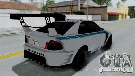 GTA 5 Karin Sultan RS Drift Double Spoiler PJ для GTA San Andreas двигатель