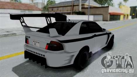 GTA 5 Karin Sultan RS Drift Double Spoiler PJ для GTA San Andreas вид сбоку